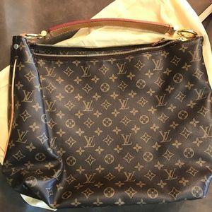 Louis Vouitton large shoulder bag